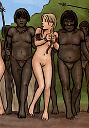 Slasher fansadox 512 Jungle safary to hell - The 2 young white girls are totally at the mercy of their tribal captors