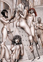 The last to cum gonna get a very special reward - Sex captives of terror prison by Tim Richards